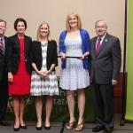 UI recognized with Healthy Iowa Award for dedication to health and wellness